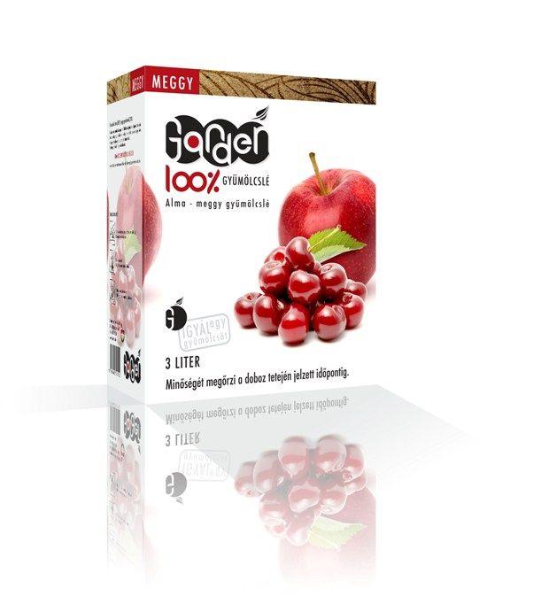 Garden alma-meggy 3l - 100% gyümölcslé
