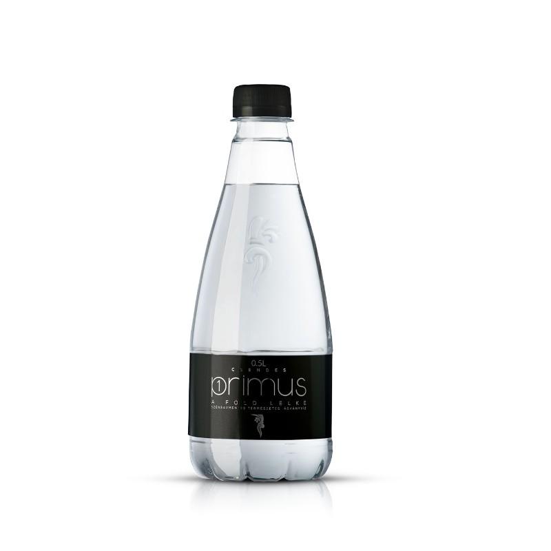 Primus pH7,53 természetes ásványvíz 0,5l mentes