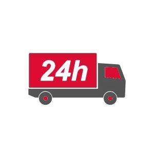 24 órán (munkanapokon) belüli kiszállítás egyeztetett időpontban ( Ha a termék raktárkészleten van )