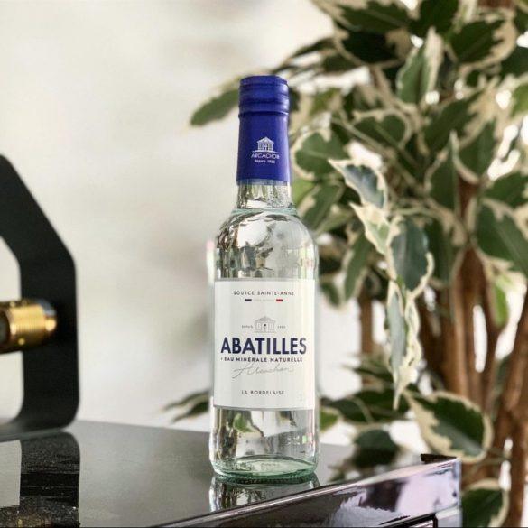 Abatilles ásványvíz üveg palackban 500ml mentes