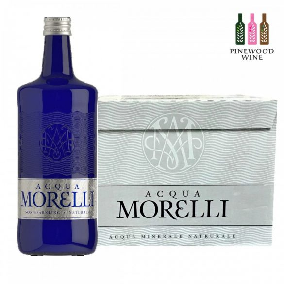 Acqua Morelli forrásvíz 750ml mentes egyedi üveg palackban