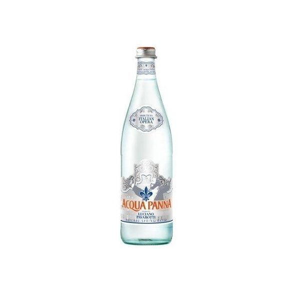 Acqua Panna mineral water 0,75l still in glass