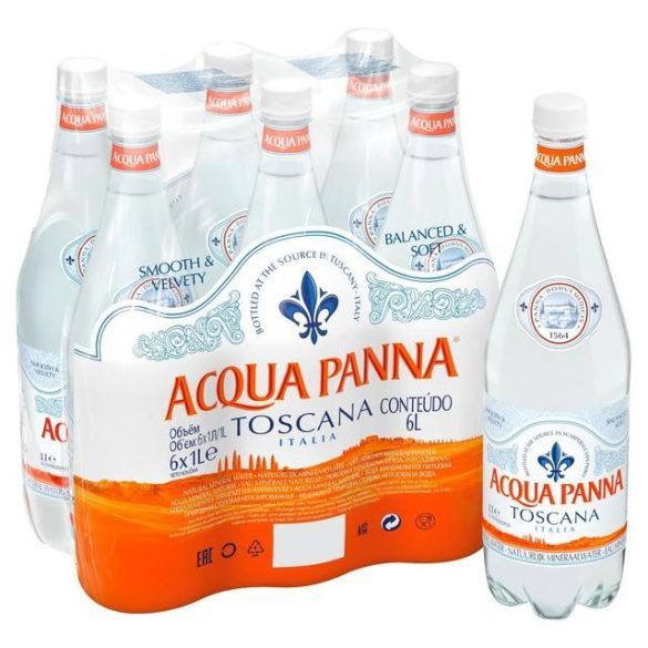 Acqua Panna mineral water 1l still in PET bottle