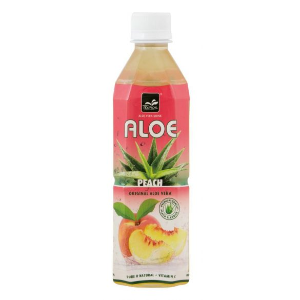 Aloe Vera Őszibarack 0,5l