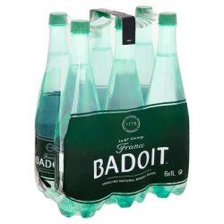 Badoit mineral water 1l sparkling in PET bottle