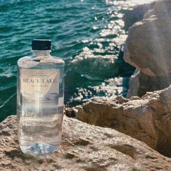Black Lake forrásvíz 0,75l PET palackban