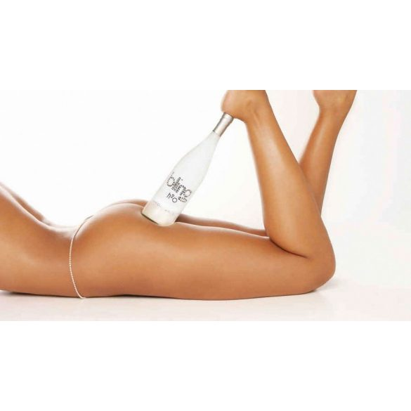 Bling H2O Swarovski mentes forrásvíz üvegben 750ml Silver