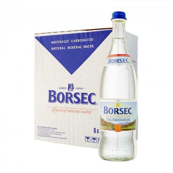 Borsec Ásványvíz 0,75l üveges szénsavas