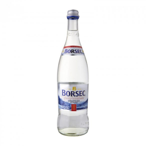 Borsec mineral water 0,75l still in glass