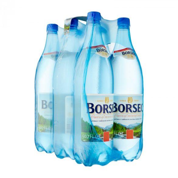 Borsec Ásványvíz 1,5 l szénsavas