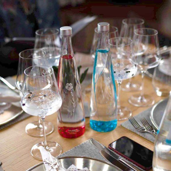 Cedea természetes forrásvíz 750ml szénsavas egyedi üveg palackban