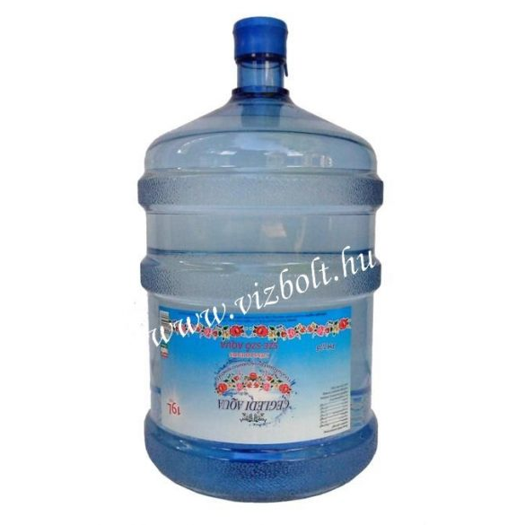 Ceglédi Aqua pH 7,7 natural mineral water 19l
