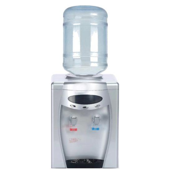 D108SD ezüst digitális ballonosasztali vízadagoló berendezés  (digitális kijelzővel)