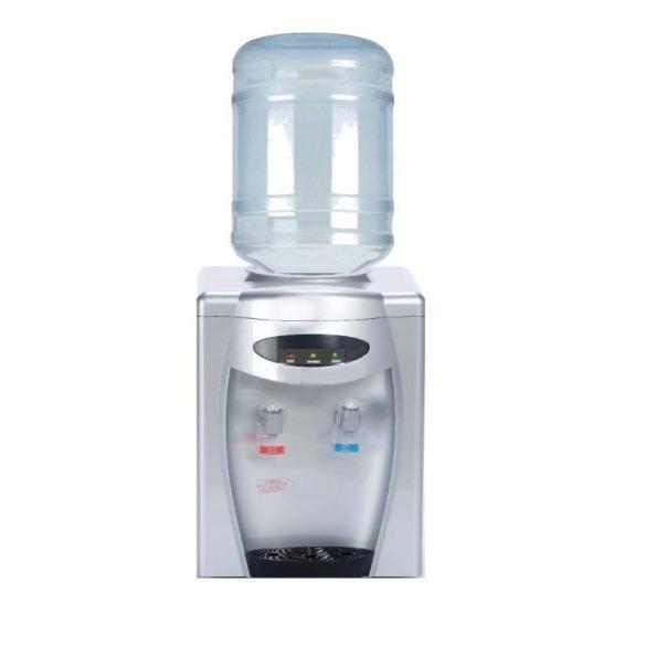 D108S ezüst ballonos asztali vízadagoló berendezés