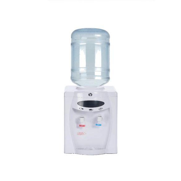 D108WD fehér ballonos asztali vízadagoló berendezés (digitális kijelzővel)