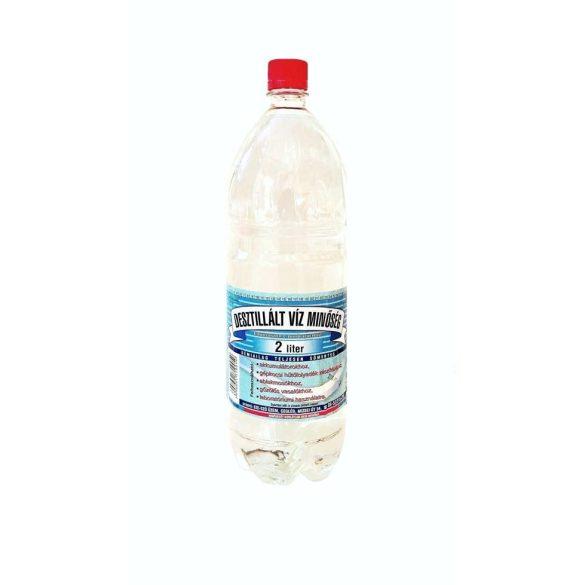 Desztillált víz 2l