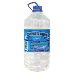 Desztillált víz 5l
