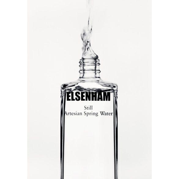 Elsenham ásványvíz 0,75l mentes egyedi üveg palackban