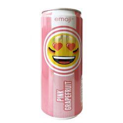 Emoji Drink Pink- Mosolyogj - frissítő ital grapefruit ízben 330ml alu dobozban