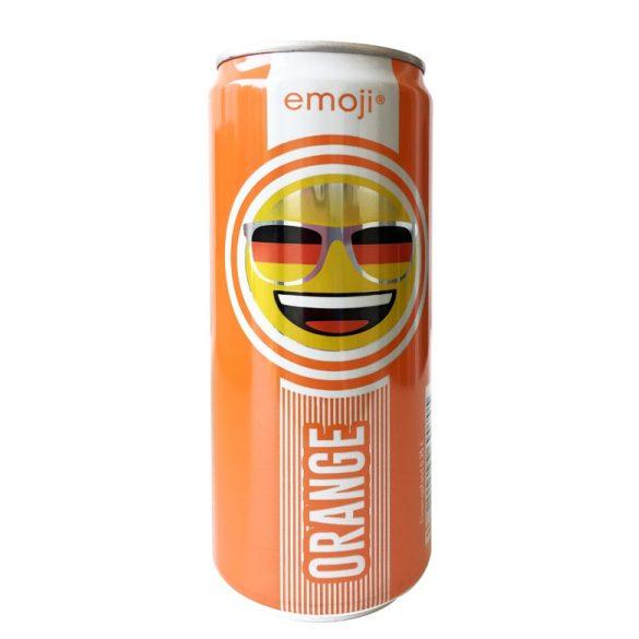 Emoji Drink Narancs- Mosolyogj - frissítő ital narancs ízben 330ml alu dobozban