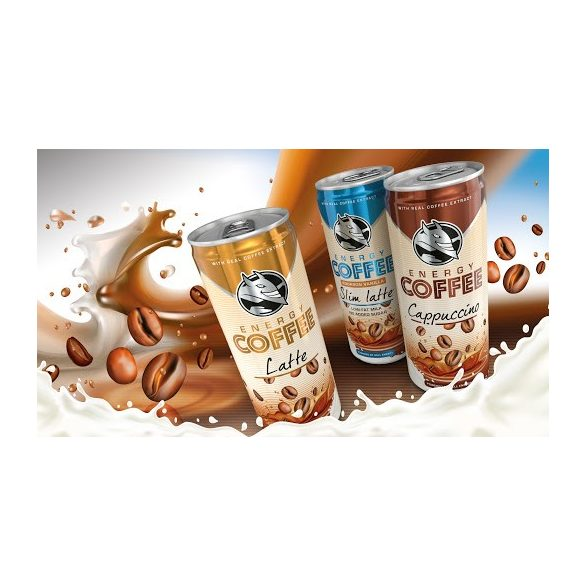 Energy Coffee Cappuccino 0,25l Hell