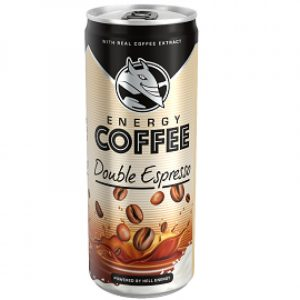 Energy Coffee Double Espresso 0,25l Hell