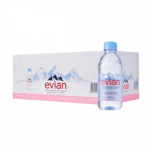 Evian 0,33l mentes ásványvíz PET palackban