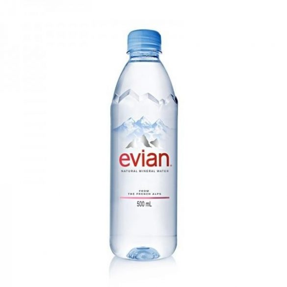 Evian mineral water 1,5l still in PET bottle
