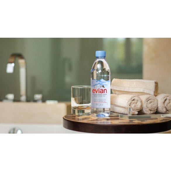 Evian 0,5l mentes ásványvíz PET palackban