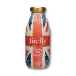 Firefly Revitalizáló gyümölcsital Bramley alma, Gyömbér ízesítéssel 330ml üvegpalackban