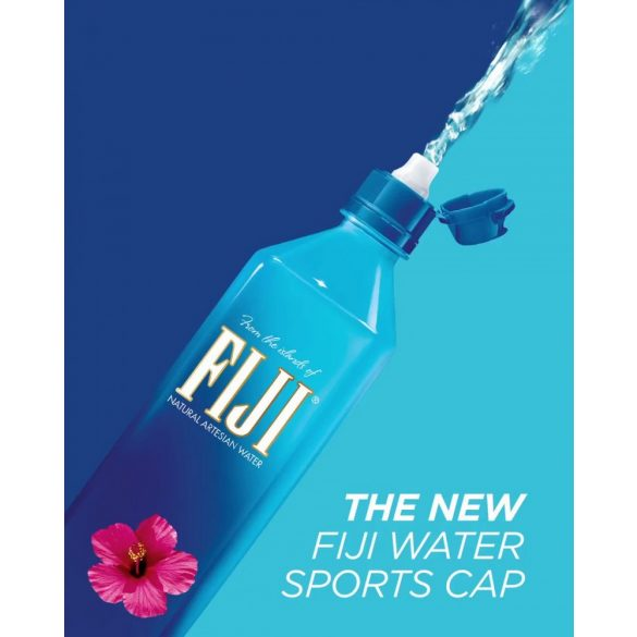Fiji 0,7l mentes ásványvíz Sportkupakos PET palackban