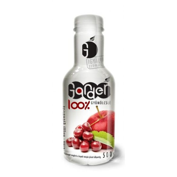 Garden apple sour cherry 0,5l -  100% fruit juice