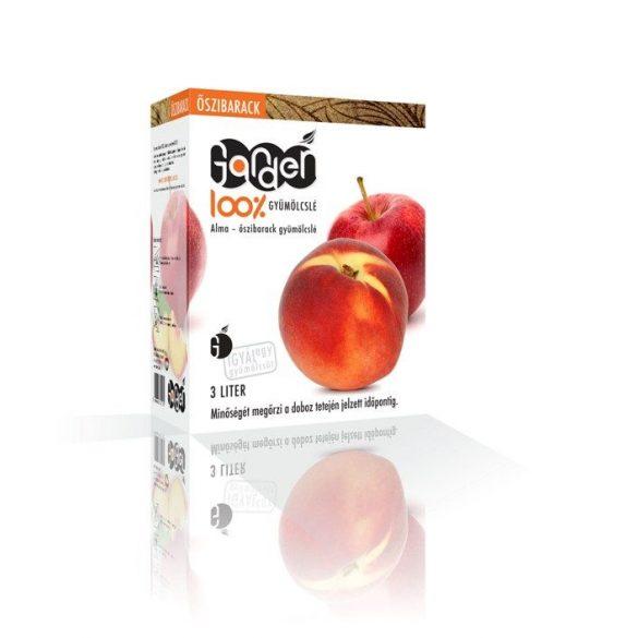 Garden alma-őszibarack 3l -  100% gyümölcslé