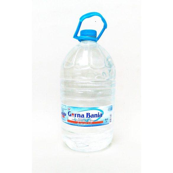 Gorna Bania pH9,4 természetes  mentes ásványvíz 6l