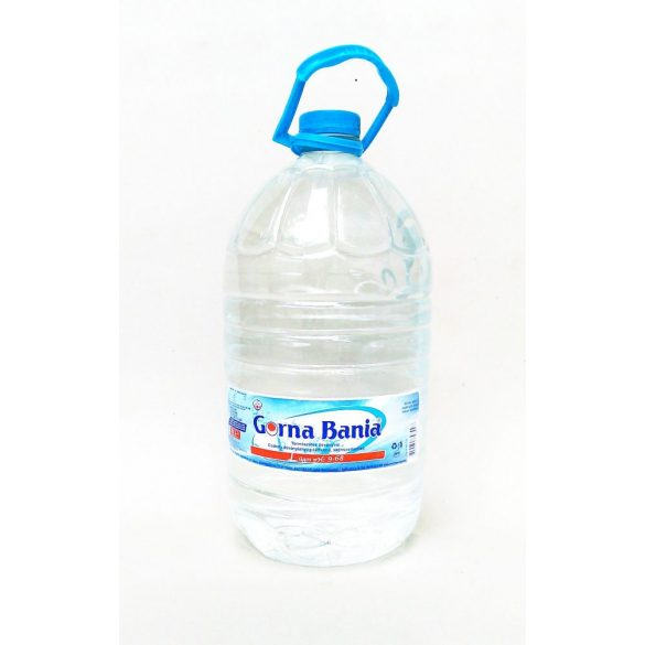 Gorna Bania pH9,4 natural mineral water 6l still