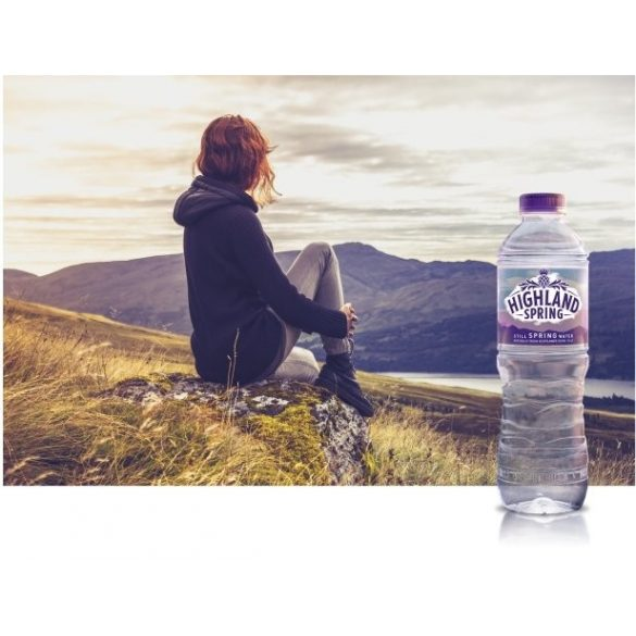 Highland spring water 1,5l still in PET bottle