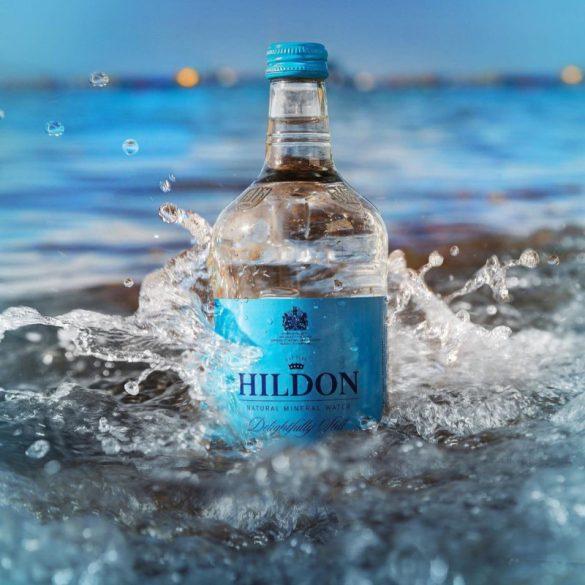 Hildon 0,75l mentes ásványvíz üvegben