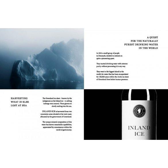 Inland Ice (Grönlandi) jégvíz szénsavas 0,75l üveg palackban