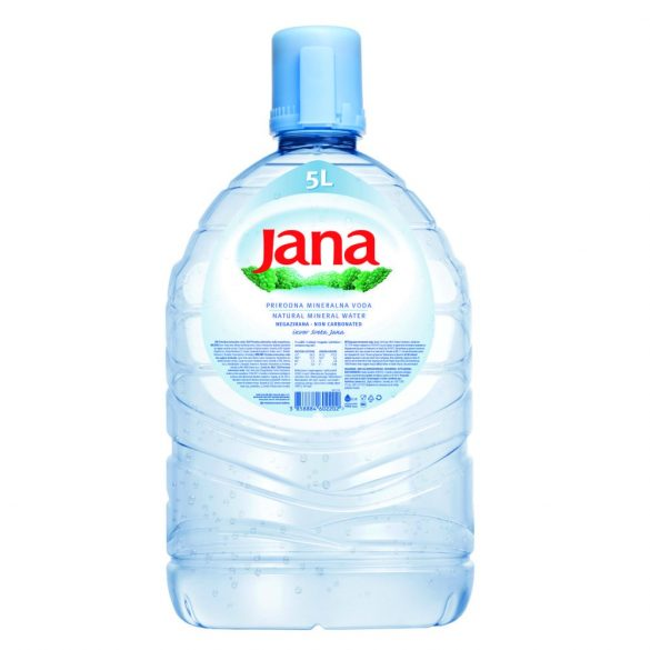 Jana szánsavmentes ásványvíz 5l