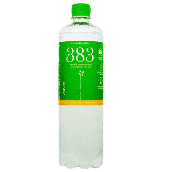 Kopjary 383 citrom-lime ízesített szénsavas ásványvíz 0,766l pet palackban