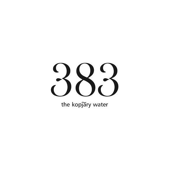 Kopjary 383 mineral water 1,149l still in PET bottle