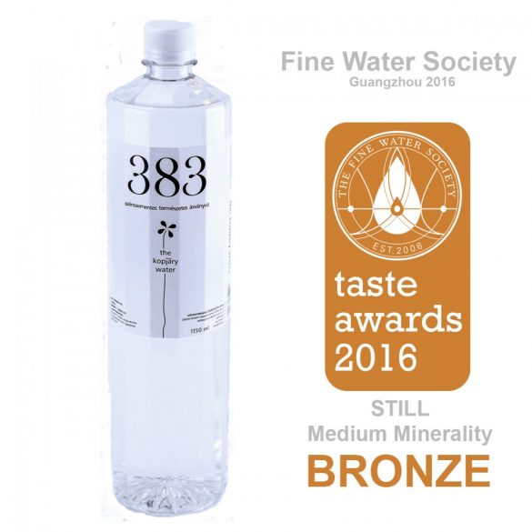 Kopjary 383 mineral water 0,383l still in PET bottle