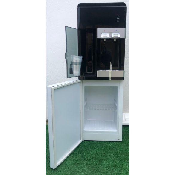LWB1 fehér fekete ballonos vízadagoló berendezés beépített hűtővel MINTADARAB
