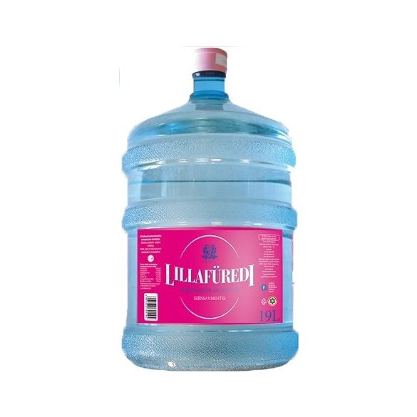 Lillafüredi pH7,3 natural mineral water 19l