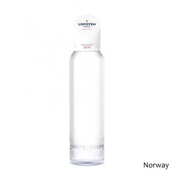 Lofoten N°68 ásványvíz szénsavas 888ml üveg palackban