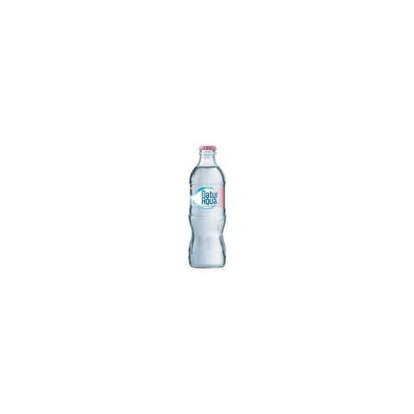 Natur Aqua 0,33l szénsavmentes ásványvíz üvegben
