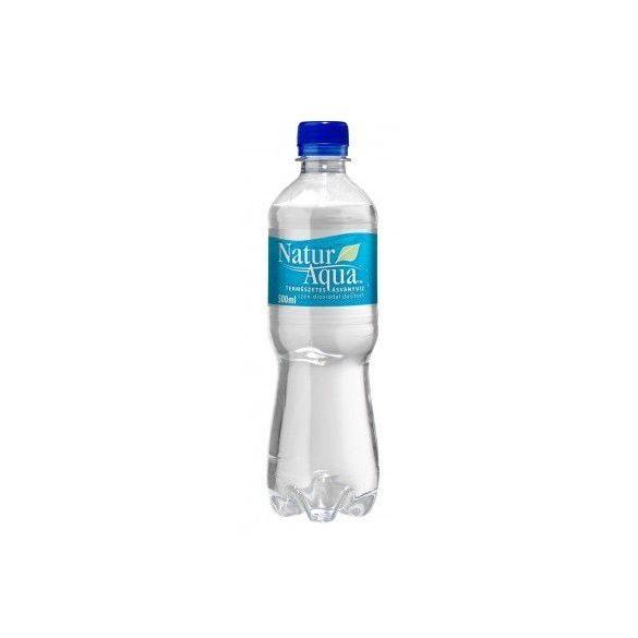 Natur Aqua natural mineral water 0,5l sparkling in PET bottle