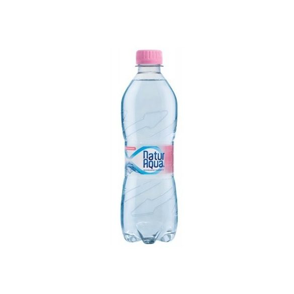 Natur Aqua natural mineral water 0,5l still in PET bottle