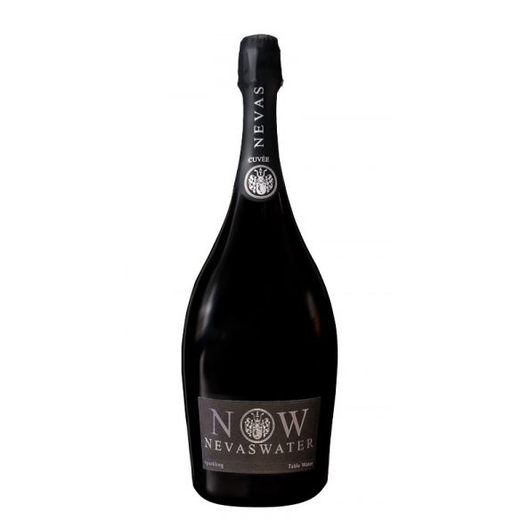 Nevas Water- Premium Cuvée Water 1,5l sparkling water in glass