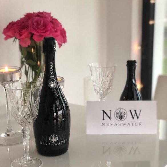 Nevas Water- Premium Cuvée Water 1,5l szénsavas ásványvíz üvegben